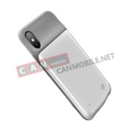 CD43IPX02, Power Bank – калъф iPhone X Usams 3200 maH бял