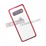 Гръб Usams Kingdom Series Samsung S10Plus червен