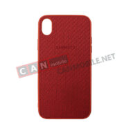 SKIXR-05, Sammato Knitting Apple iPhone XR червен