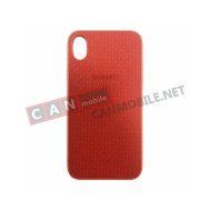 SKIXS-05, Sammato Knitting Apple iPhone X/XS червен