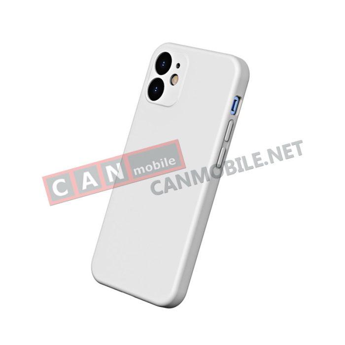 Гръб iPhone 12 - 12 PRO 6.1 inch BASEUS LIQUID SILICA бял