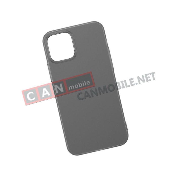 WIAPIPH67N-01 , Гръб iPhone 12 PRO MAX 6.7 inch BASEUS WING черен мат