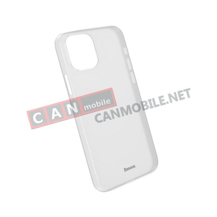 Гръб iPhone 12 PRO MAX 6.7 inch BASEUS WING бял мат